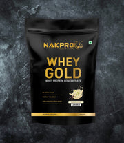 NAKPRO Nutrition whey protein concentrate whey protein powder 1 Kg vanilla