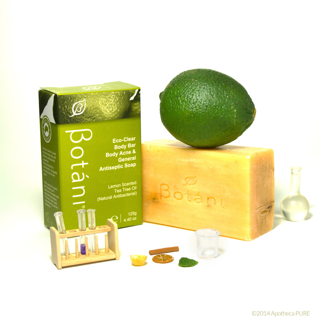 Botani ECO-CLEAR BODY BAR (Body Acne & General Antiseptic Soap) - A-PURE Skincare Boutique