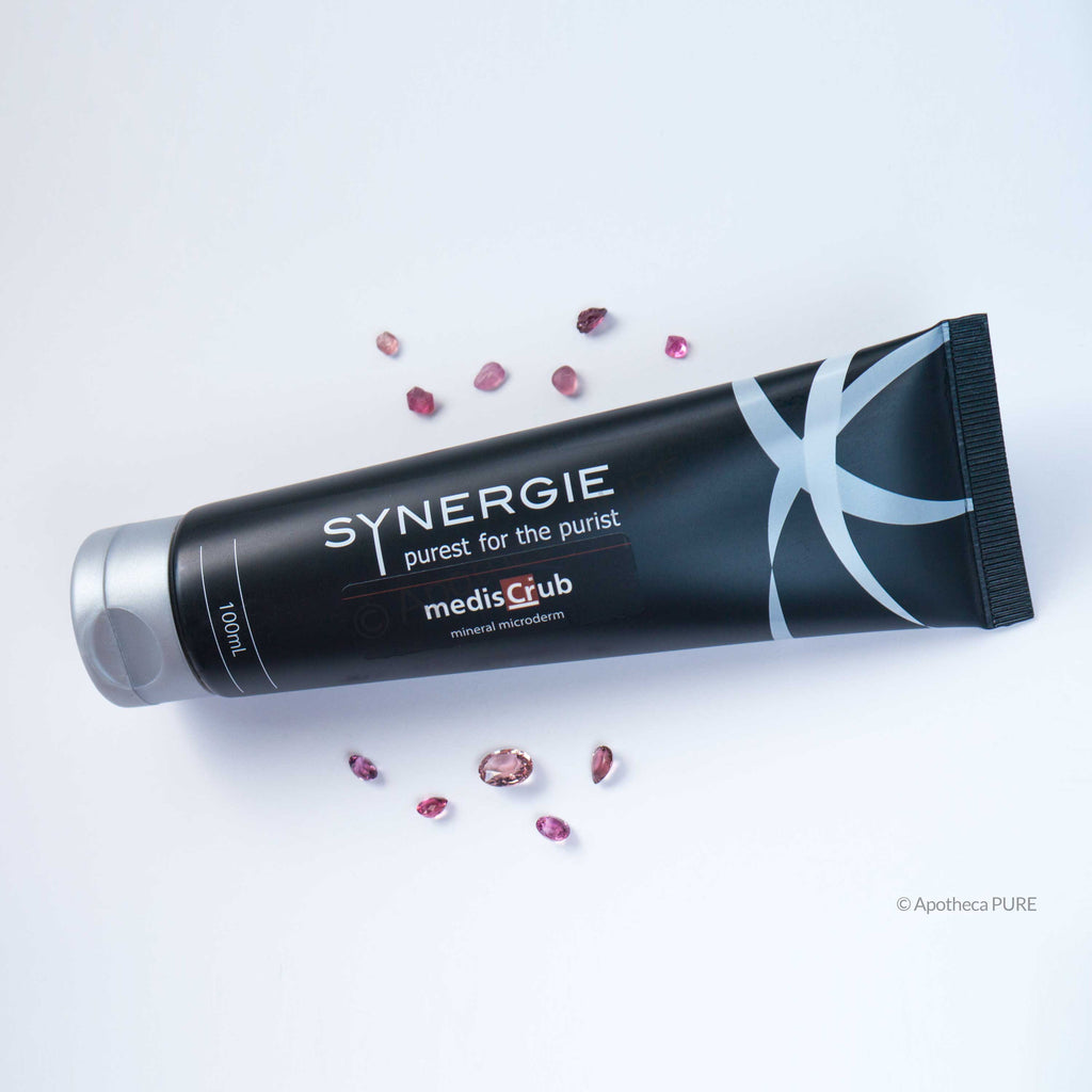 Synergie MEDISCRUB Mineral Crystal Facial Scrub (Microdermabrasion) - A-PURE Skincare Boutique