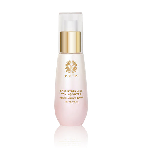 Evie ROSE HYDRAMIST TONING WATER MINI (White Rose Special Edition)