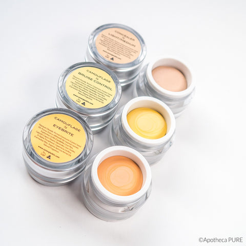 Synergie Minerals CONCEALER / BRUISE CONTROL / EYEBRITE (Camouflage for Dark Circles or Brightening)