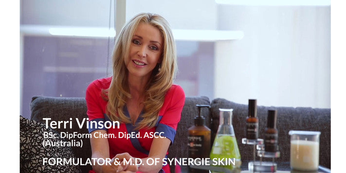 Terri Vinson, Formulator and Founder of Synergie Skin & Synergie Minerals
