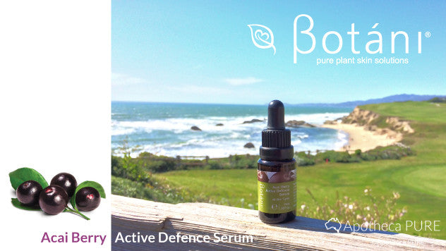 Botani Acai Berry Serum, Superfood for the skin