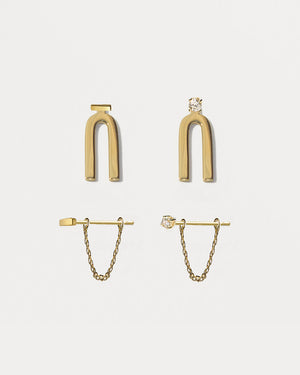 Essentials II - Earring Capsule Quad Set