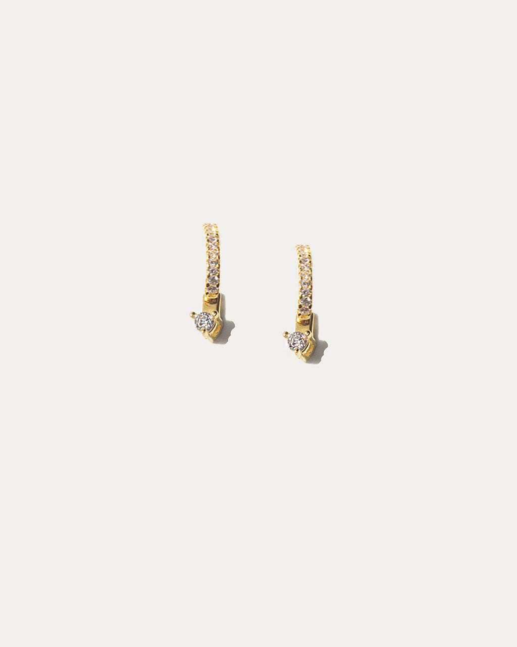 Earring Stud & Jacket Duo