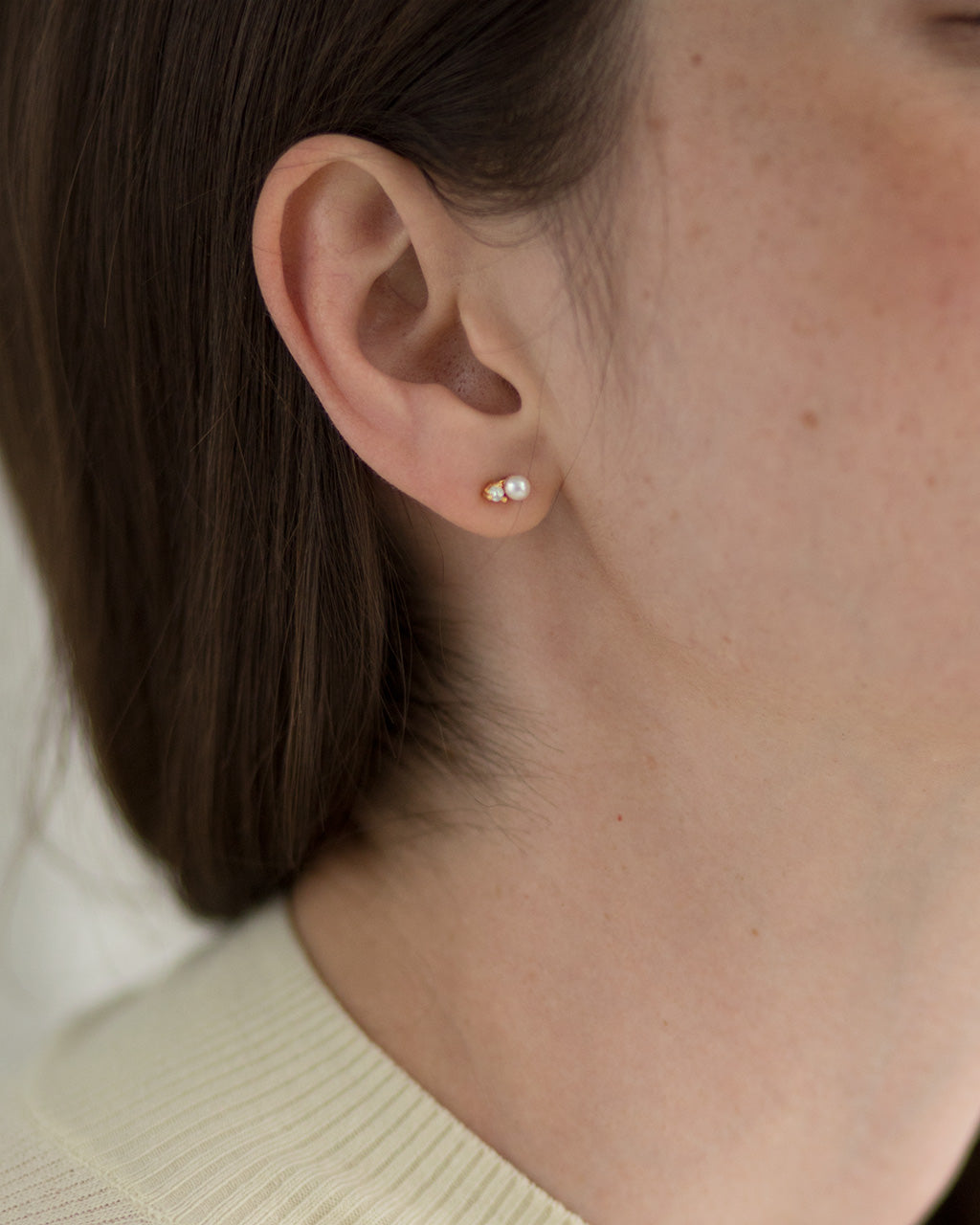 Solitaire Ear Jackets