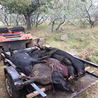 TEXAS HOG HUNT SHOOTOUT Competition $199 April - June 2018 3 Day