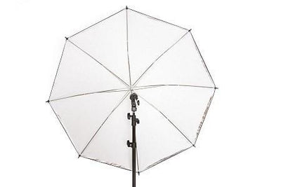 "40"" White/Translucent 2 in 1 Umbrella - Strobepro Studio Lighting"