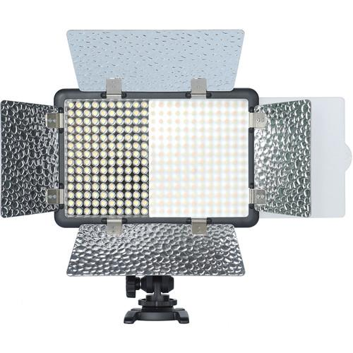 Godox LF308BI Bi-Colour LED Video Light with Flash Sync