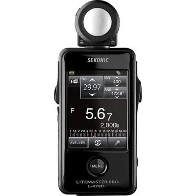 Sekonic L-478D LiteMaster Pro Light Meter - Strobepro Studio Lighting