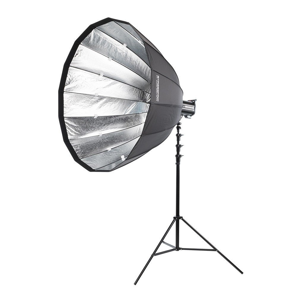 "47"" Rapid Deep Parabolic Softbox - RENTAL - Strobepro Studio Lighting"