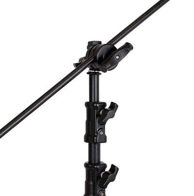 Strobepro C Stand SE with Boom - Strobepro Studio Lighting