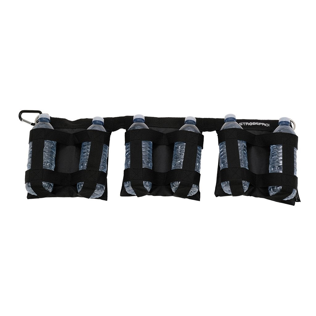 Strobepro Deluxe Tri-Sandbag - Unfilled - Strobepro Studio Lighting