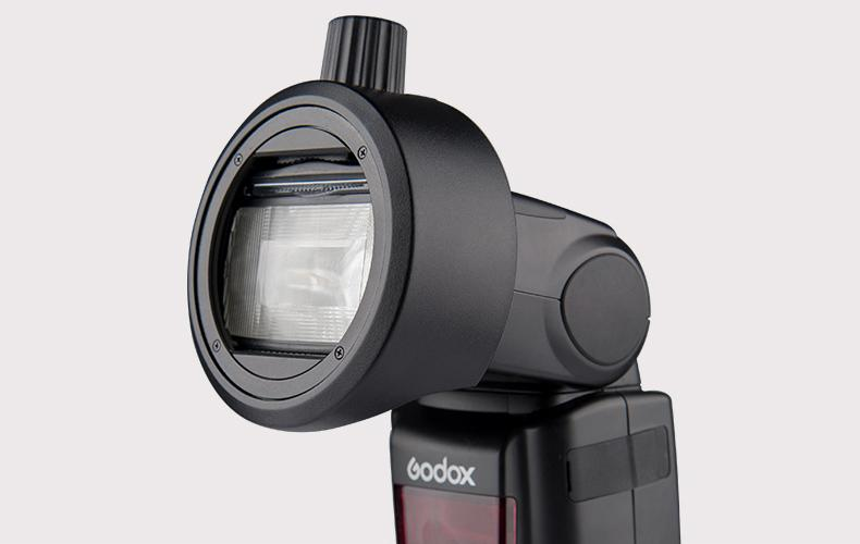 Strobepro Speedlite (GODOX S-R1) Round Head Accessory Adapter - Strobepro Studio Lighting