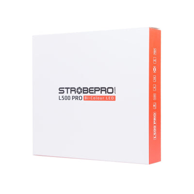 Strobepro L500 LED Video Light - Strobepro Studio Lighting