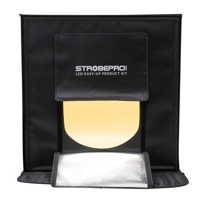 Strobepro LED Easy-Up Product Kit - Strobepro Studio Lighting