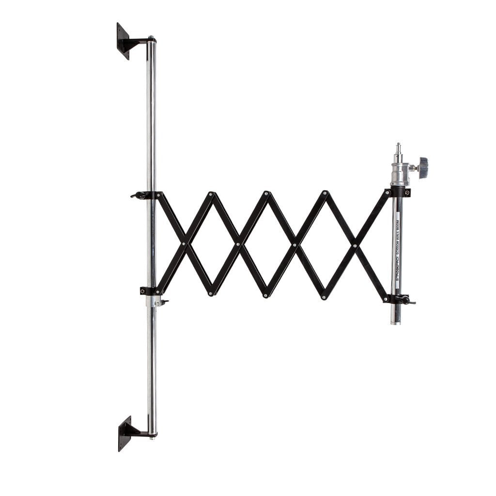 Strobepro Scissor Wall Stand - Strobepro Studio Lighting
