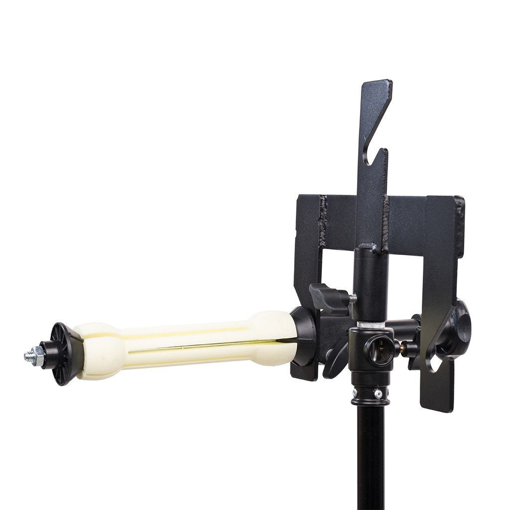 Triple Background Brackets - Stand Mount - For Lifting Shaft - Strobepro Studio Lighting