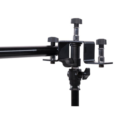 Triple Background Brackets - Stand Mount - For Crossbar - Strobepro Studio Lighting