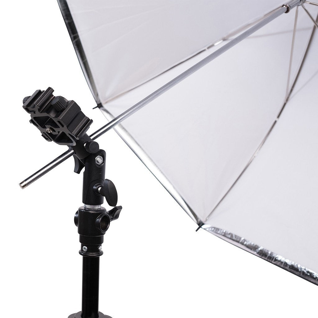 Metal Triple Mount Umbrella Adapter - Strobepro Studio Lighting