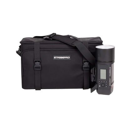 X600 Pro Battery Powered Location Kit - Single Light - Strobepro Studio Lighting