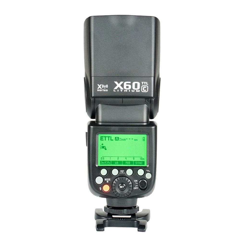 Strobepro X60C TTL Lithium (Godox V860iiC) Battery Wireless Speedlite - Canon - Strobepro Studio Lighting