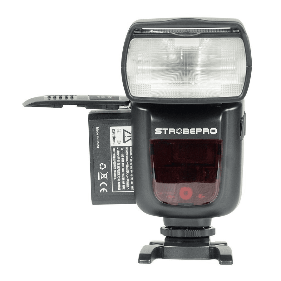 STROBEPRO X60F TTL LITHIUM (GODOX V860IIF) BATTERY WIRELESS SPEEDLITE - FUJIFILM