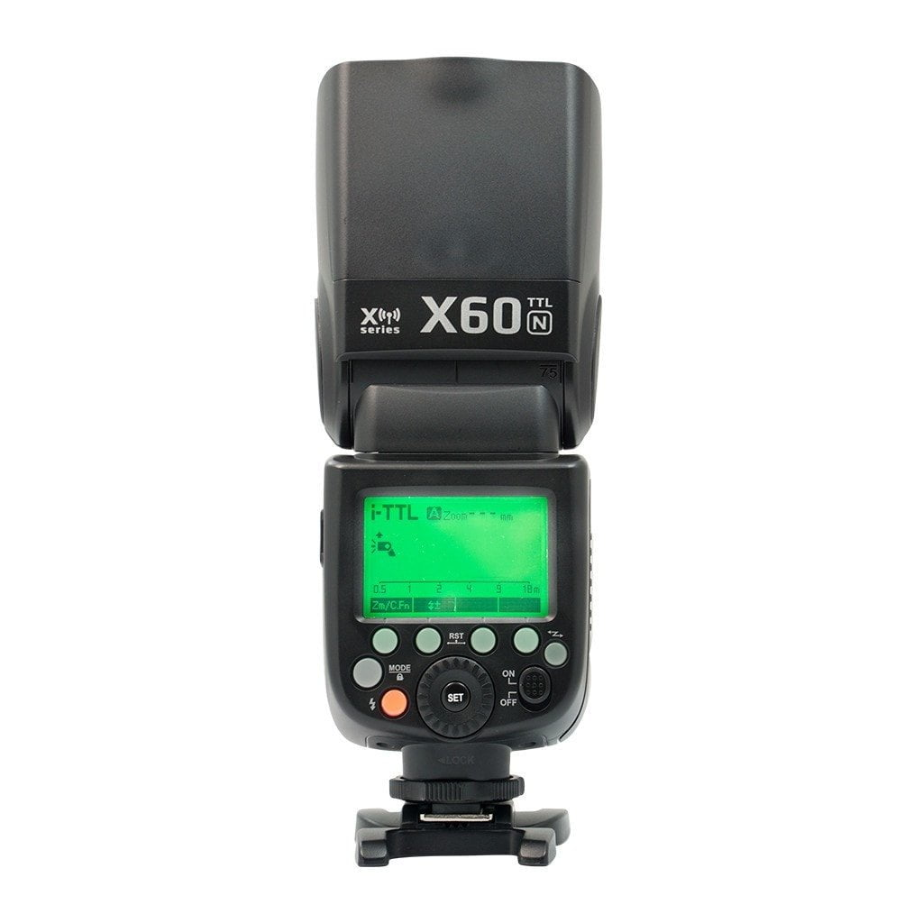 Strobepro X60N (Godox TT685N) TTL Wireless Speedlite - Nikon - Strobepro Studio Lighting