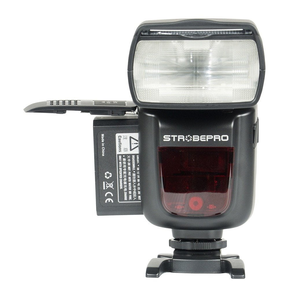 Strobepro X60N TTL Lithium (Godox V860IIN) Battery Wireless Speedlite - Nikon - Strobepro Studio Lighting