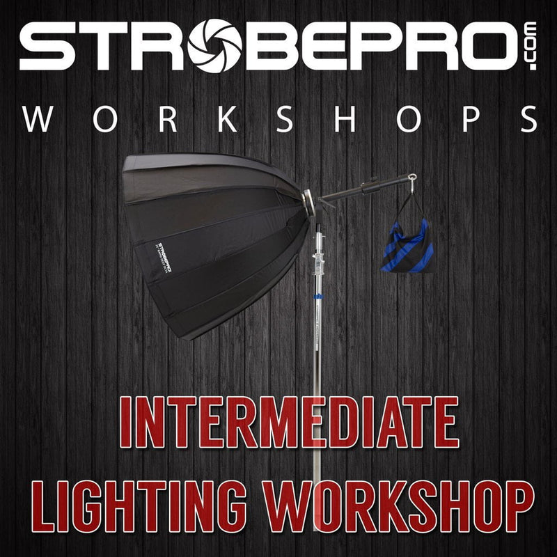 *NEW* Intermediate Studio Lighting Workshop - Strobepro Studio Lighting