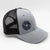 Strobepro Low Profile Snapback Shutter Hat-HEATHER GREY/DARK CHARCOAL
