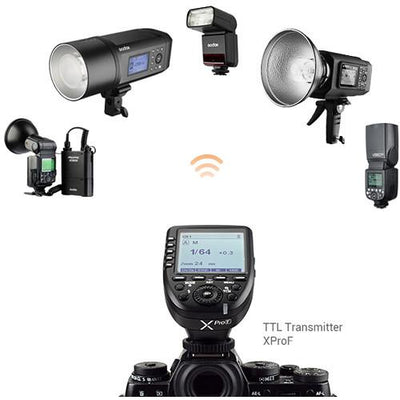 Strobepro X35F LITHIUM (Godox V350F) TTL Mini Wireless Speedlite Flash - Fuji - Strobepro Studio Lighting