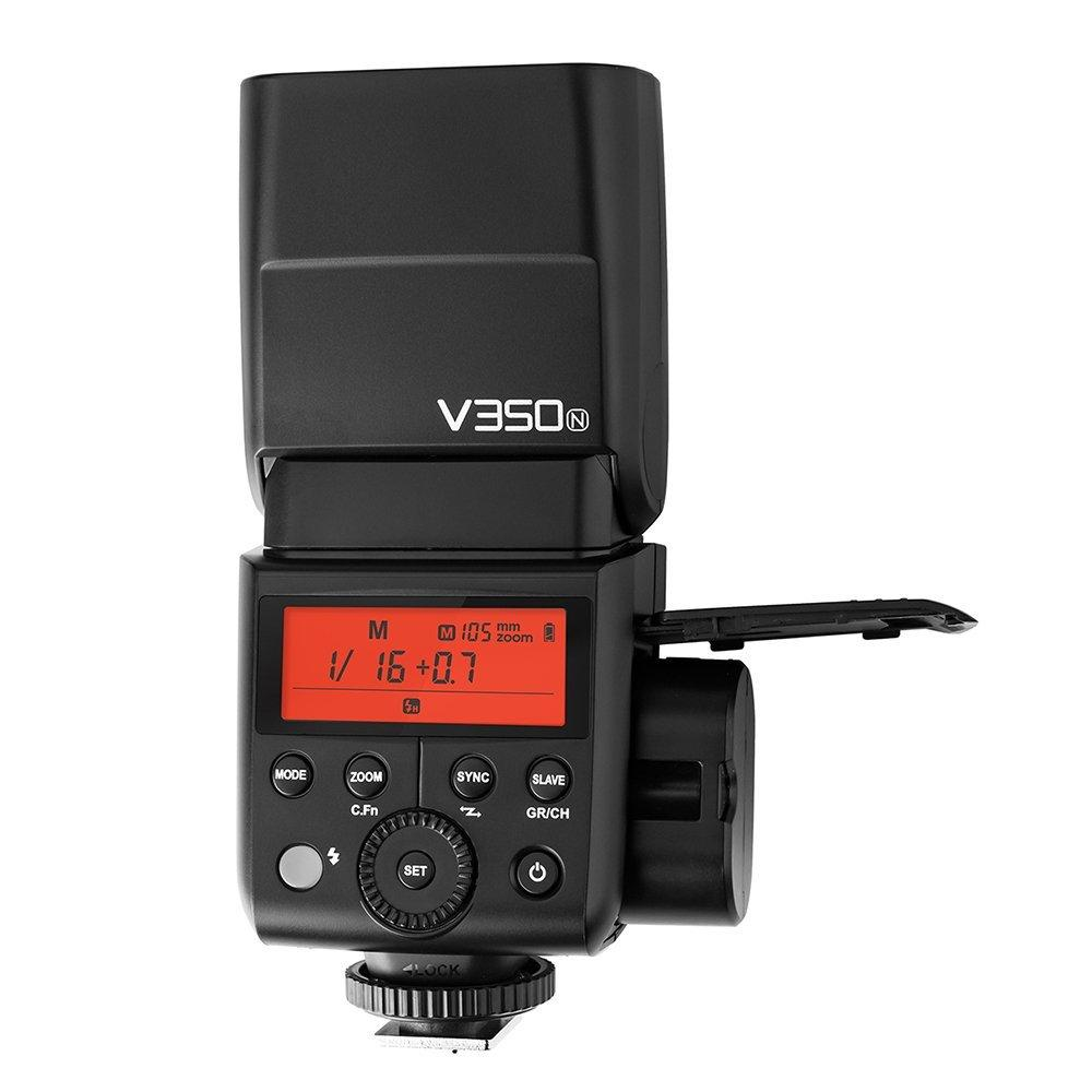 Strobepro X35N LITHIUM (Godox V350N) TTL Mini Wireless Speedlite Flash - Nikon - Strobepro Studio Lighting