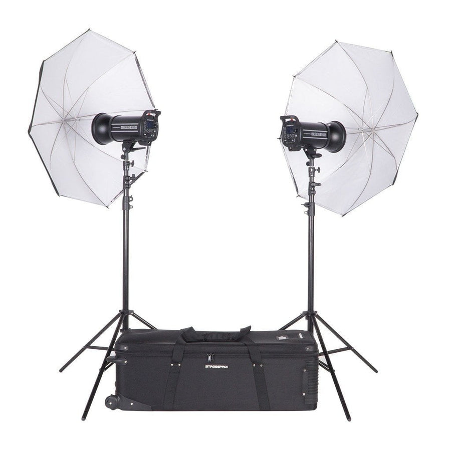 Strobepro XPRO 400W HSS Studio Lighting Kit - Strobepro Studio Lighting