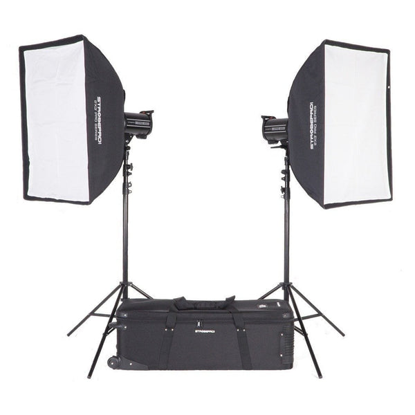 Strobepro XPRO 600W HSS Studio Lighting Kit