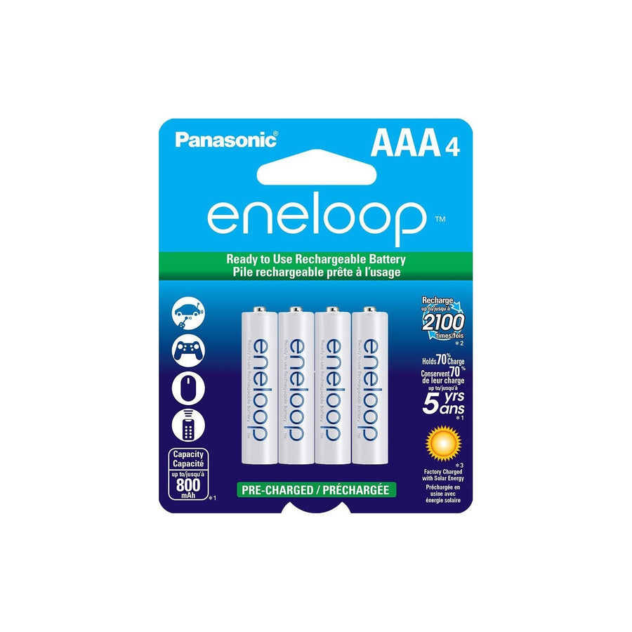 Eneloop AAA Rechargeable Batteries- 4 Pack