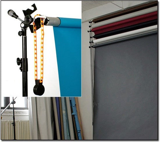 Hand Operated Lifting Shaft Set - Strobepro Studio Lighting