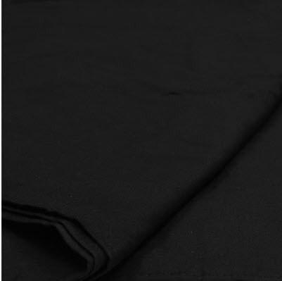 10'x12' Muslin BLACK - RENTAL - Strobepro Studio Lighting