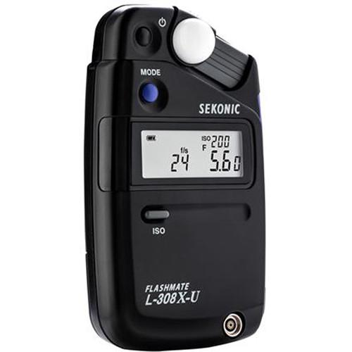 Sekonic Flashmate L-308X-U Light Meter - Strobepro Studio Lighting
