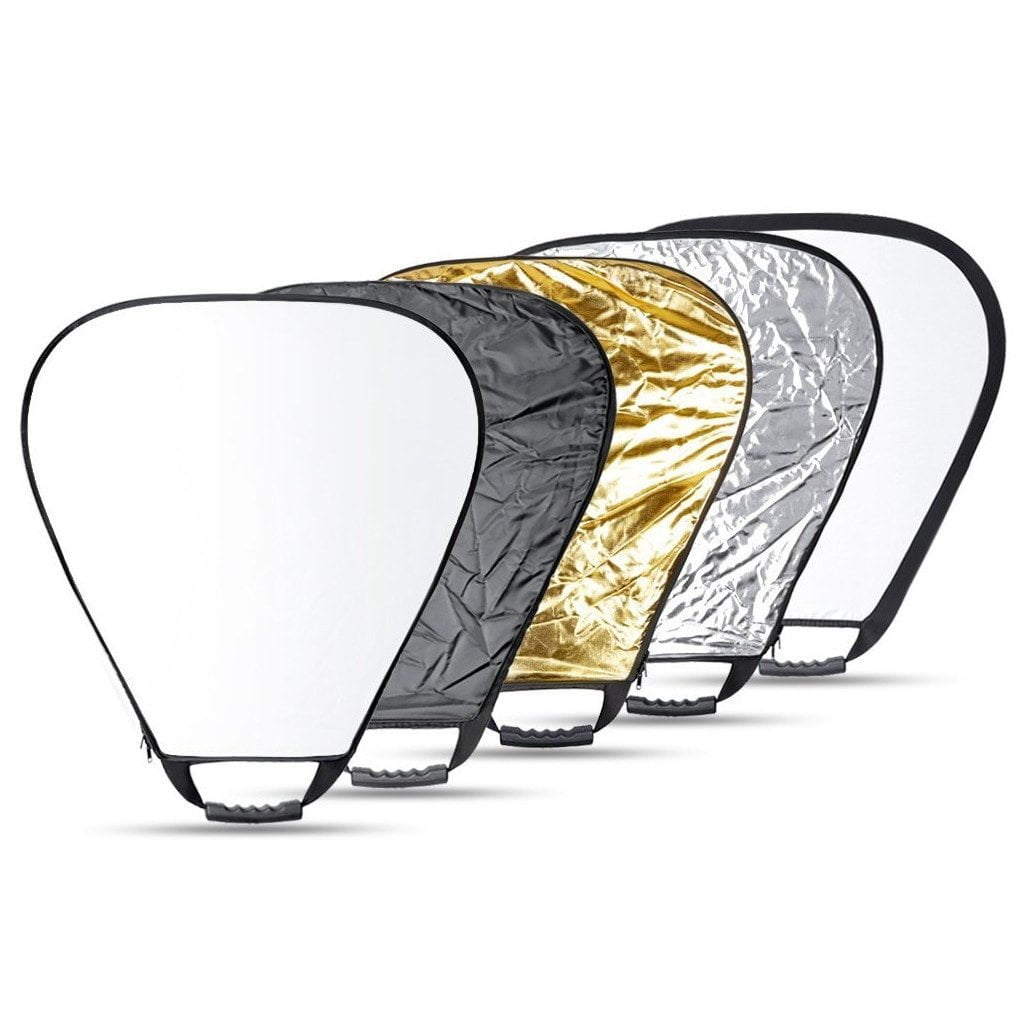 """43"""" 5 In 1 Folding Tri-Reflector with Handle"""