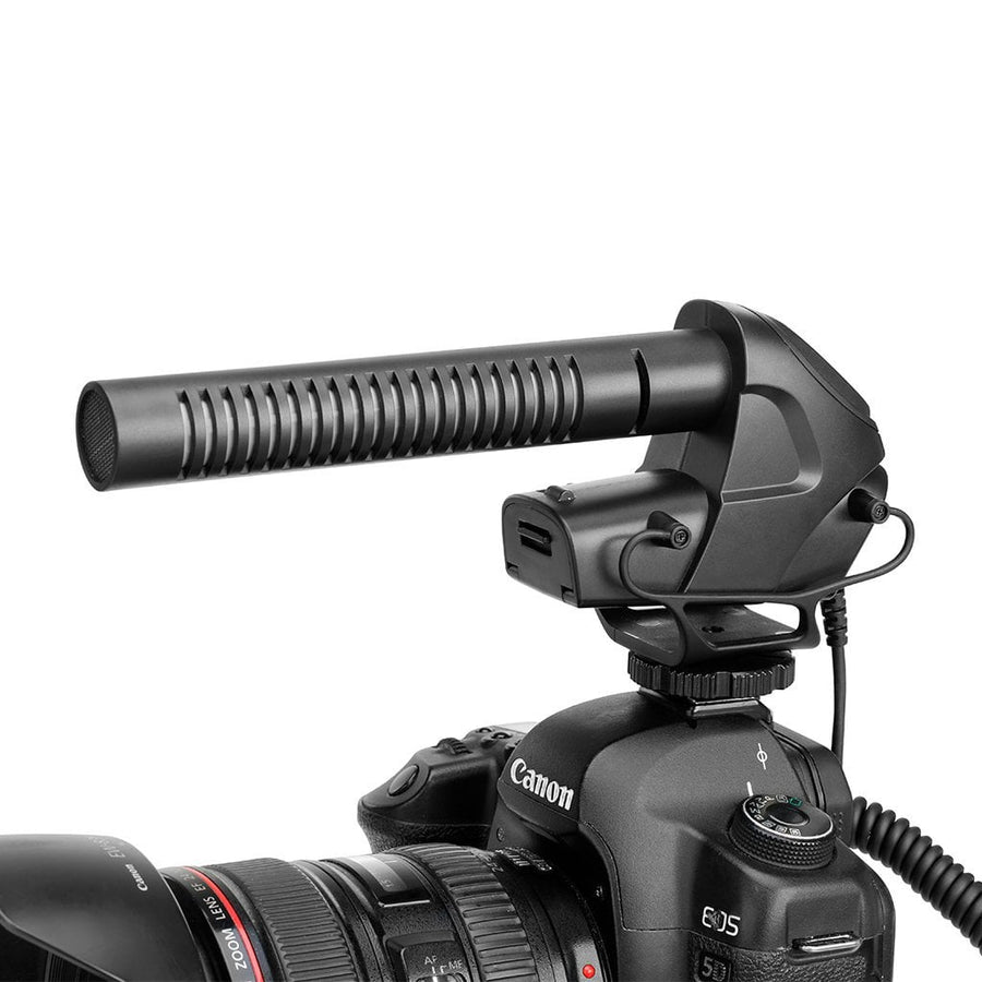 Boya BY-BM3031 Shotgun Microphone - Strobepro Studio Lighting