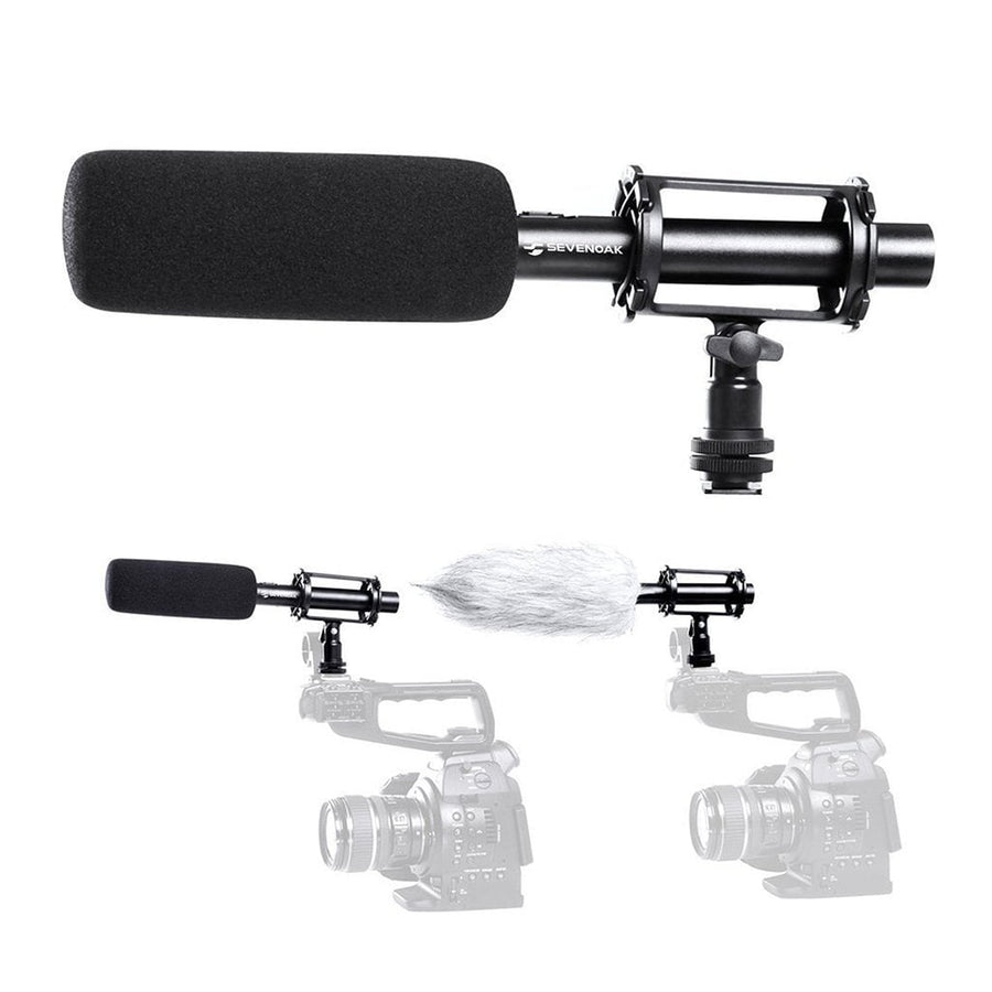 Boya BY-PVM1000 Shotgun Microphone - Strobepro Studio Lighting