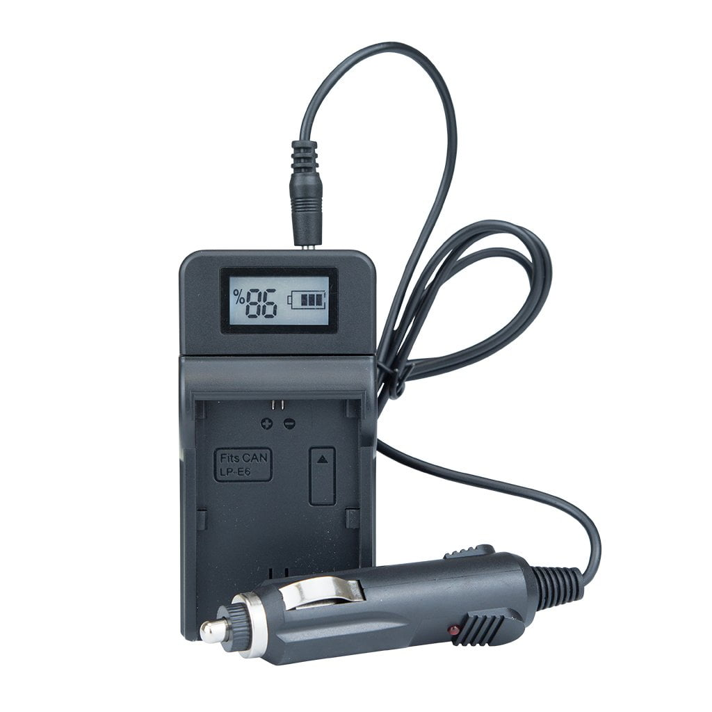 Strobepro Battery Charger - Canon LP-E6 LP-E6N - Strobepro Studio Lighting
