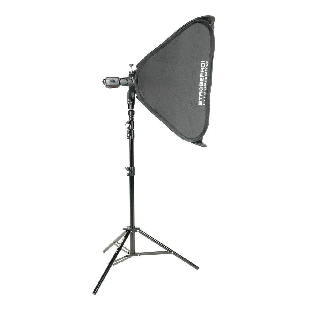 Strobepro 2'x2' Speedlite Easy-Up Softbox Kit - Strobepro Studio Lighting