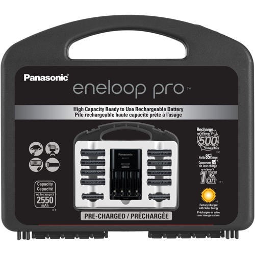 Eneloop Pro Rechargeable Battery Kit