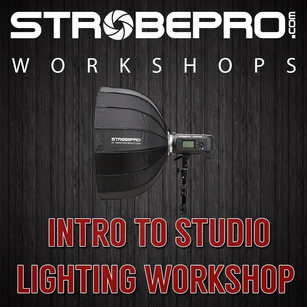 Intro to Studio Lighting Workshop - Strobepro Studio Lighting