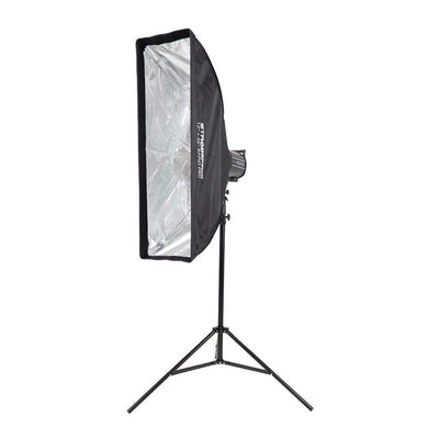 12x36 Inch Rapid Pro Folding Umbrella Strip Softbox - SMALL - Strobepro Studio Lighting