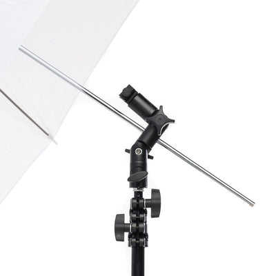 Single Mount Metal Speedlite Umbrella Adapter - Strobepro Studio Lighting