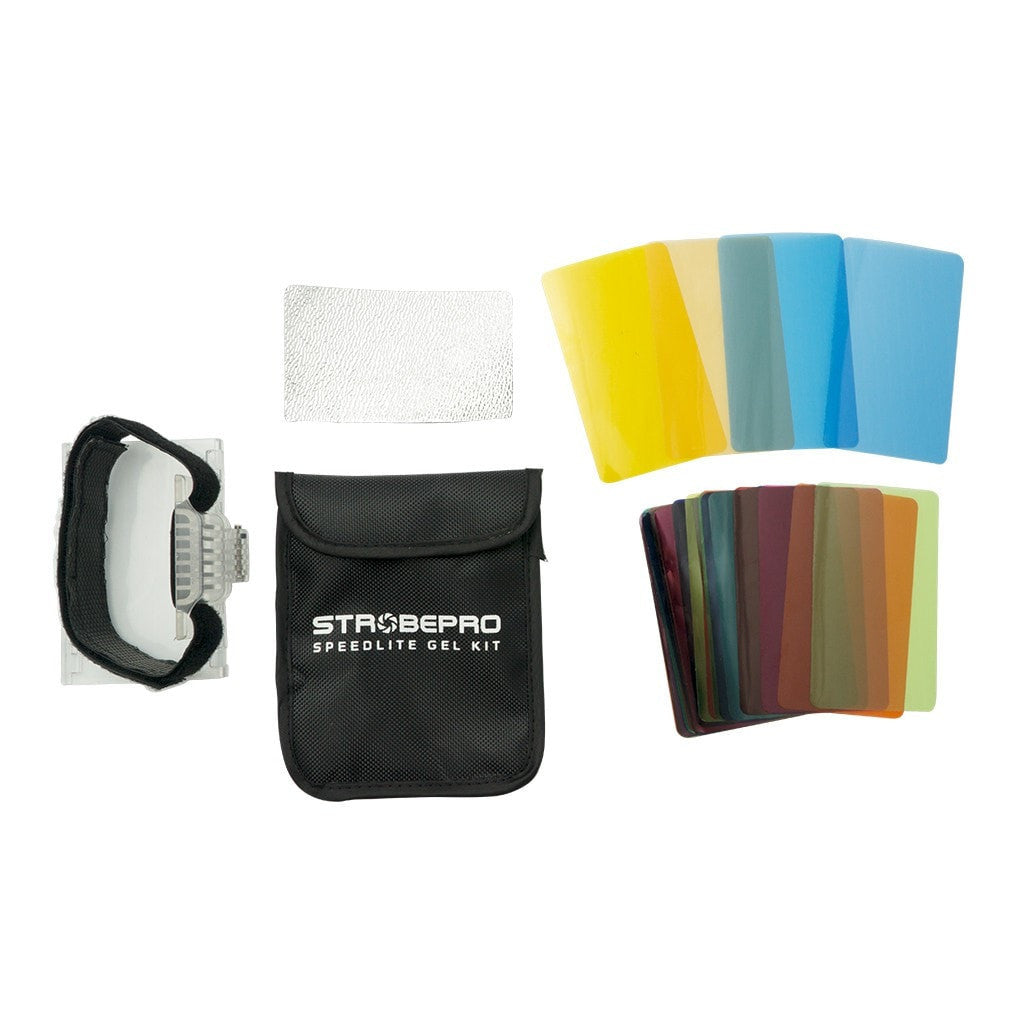 Strobepro Speedlite Gel Kit - Strobepro Studio Lighting