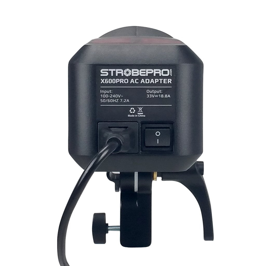 Strobepro X600 Pro AC Adapter (Godox AC-26) - Strobepro Studio Lighting